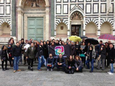 Gli igers si ritrovano a Firenze per fare foto con Instagram