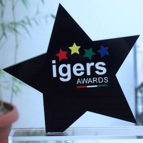 Il nostro Igers Award negli studi di Giallo Zafferano (foto @giallozafferano)
