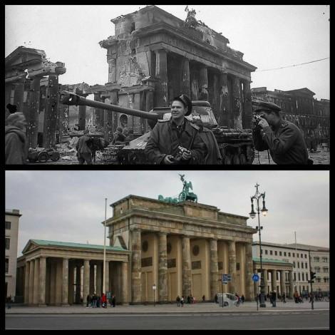 I luoghi della Seconda Guerra Mondiale, ieri e oggi su Instagram