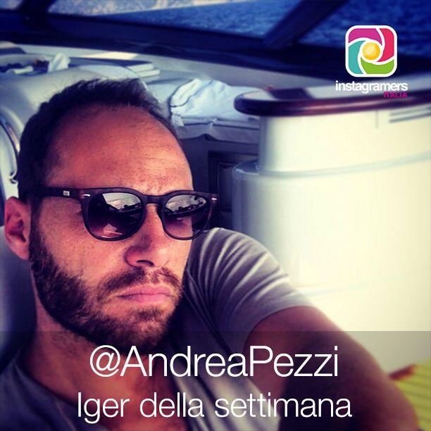 Andrea Pezzi // Iger della settimana