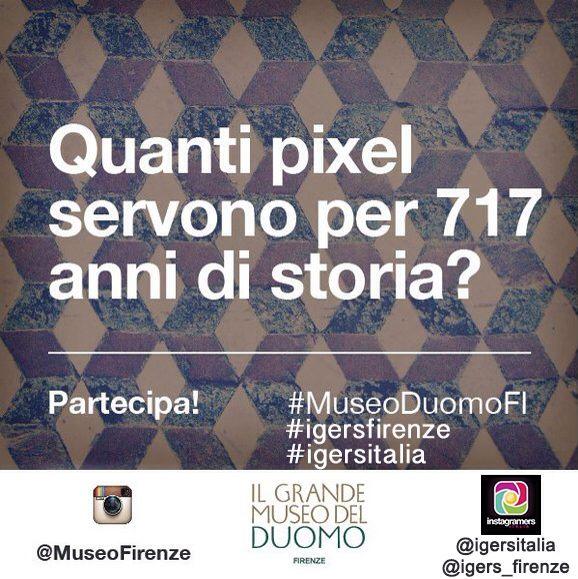 Brunelleschi e il Grande Museo del Duomo di Firenze su Instagram