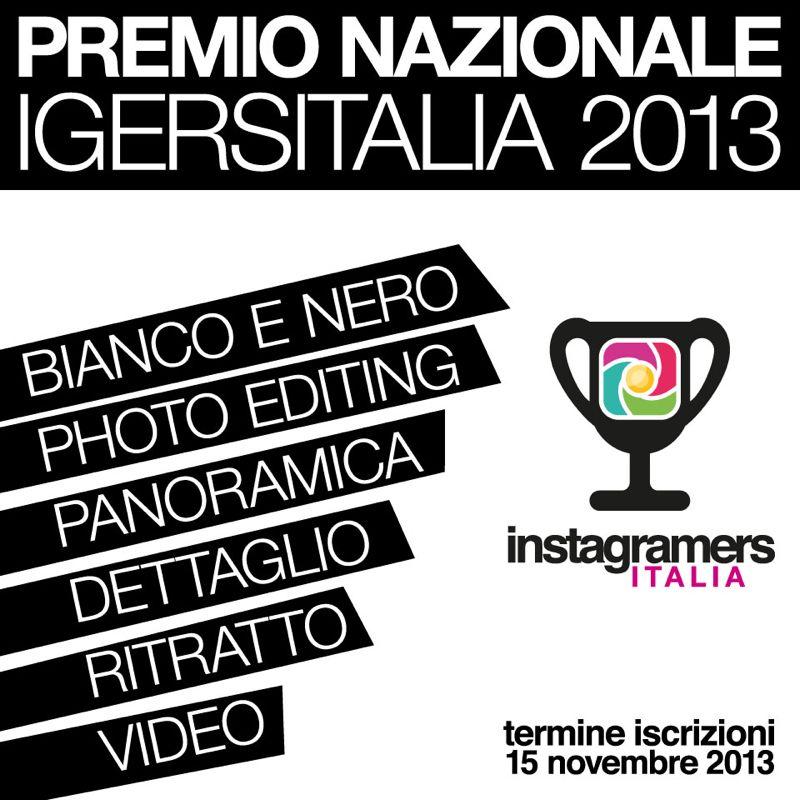Premio Nazionale Igersitalia 2013
