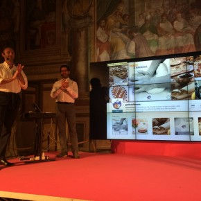 La premiazione di Giallo Zafferano agli Igers Awards