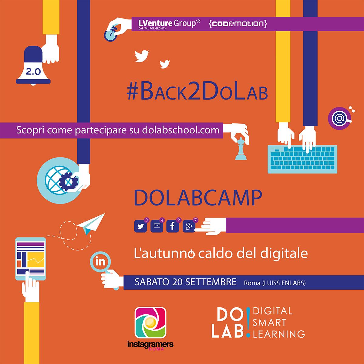 Back2DoLab: condividete con igersroma il rientro dalle vacanze
