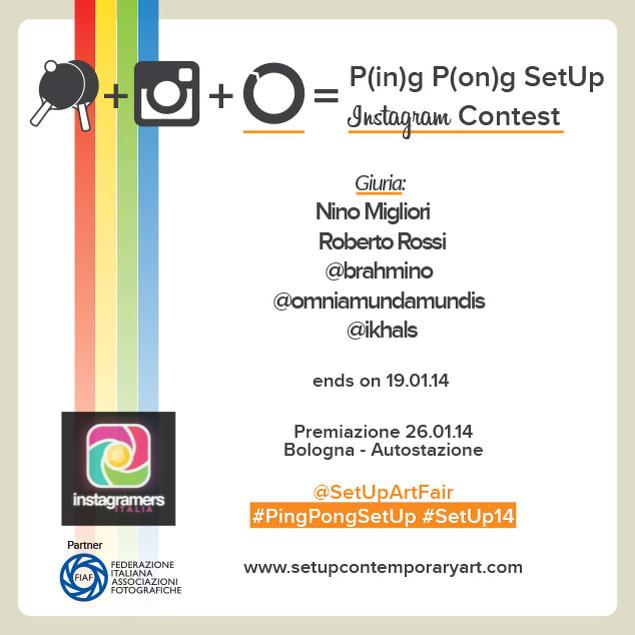 SetUp Art Fair lancia il Contest P(in)g P(on)g con Nino Migliori