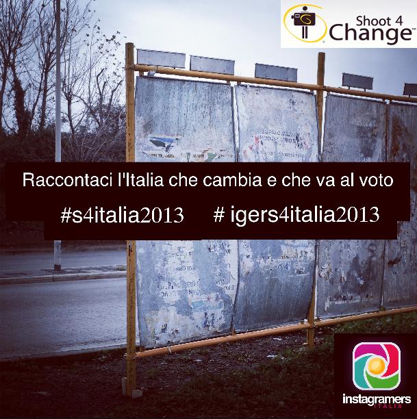 Igers: raccontateci l'Italia che cambia e che va verso il voto!