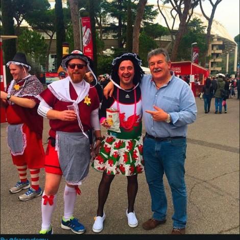 #RugbyCuorePassione: gli Igers in campo alla finale del 6 Nazioni