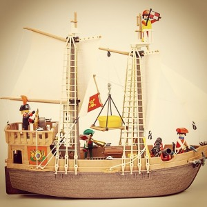 @playmobil: Flashback - the first #PLAYMOBIL pirate ship | #playmobil40 #toys #flashback #tbt #throwbackthursday #vintage #pirates #pirateship #1978 #70s #ship