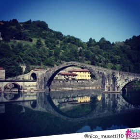 foto scelta per #italia365 – Ponte del Diavolo (Garfagnana) – @nico_musetti10