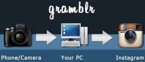 Gramblr per caricare su Instagram dal computer