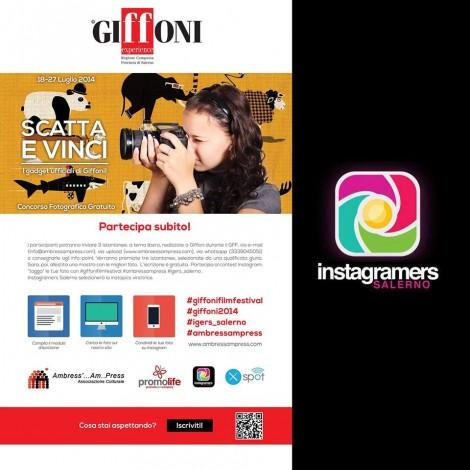 Challenge Giffoni Film Festival con Igers_Salerno