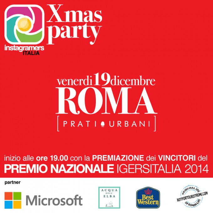 Instagramers Italia Xmas Party 2014