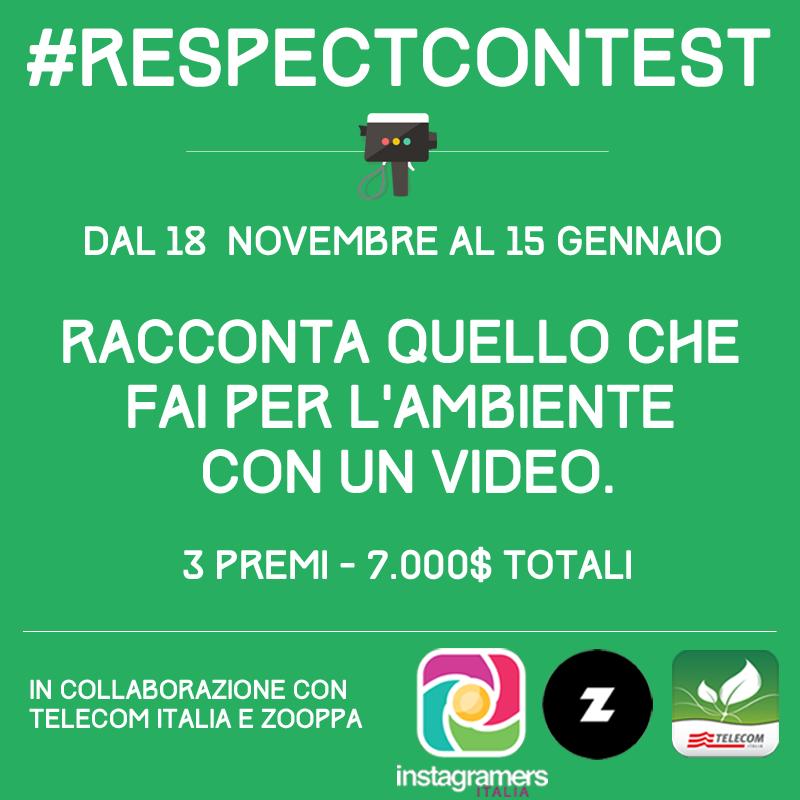 Contest VIDEO per l'ambiente: #respectcontest