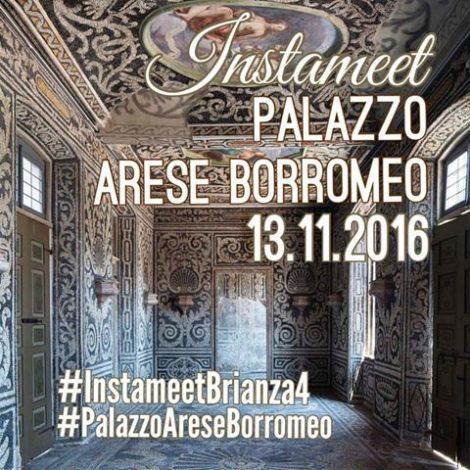 Instameet con Igers_Brianza al Palazzo Arese Borromeo