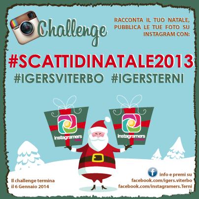 #SCATTIDINATALE2013: il Natale raccontato dagli Instagramers di Viterbo e Terni.