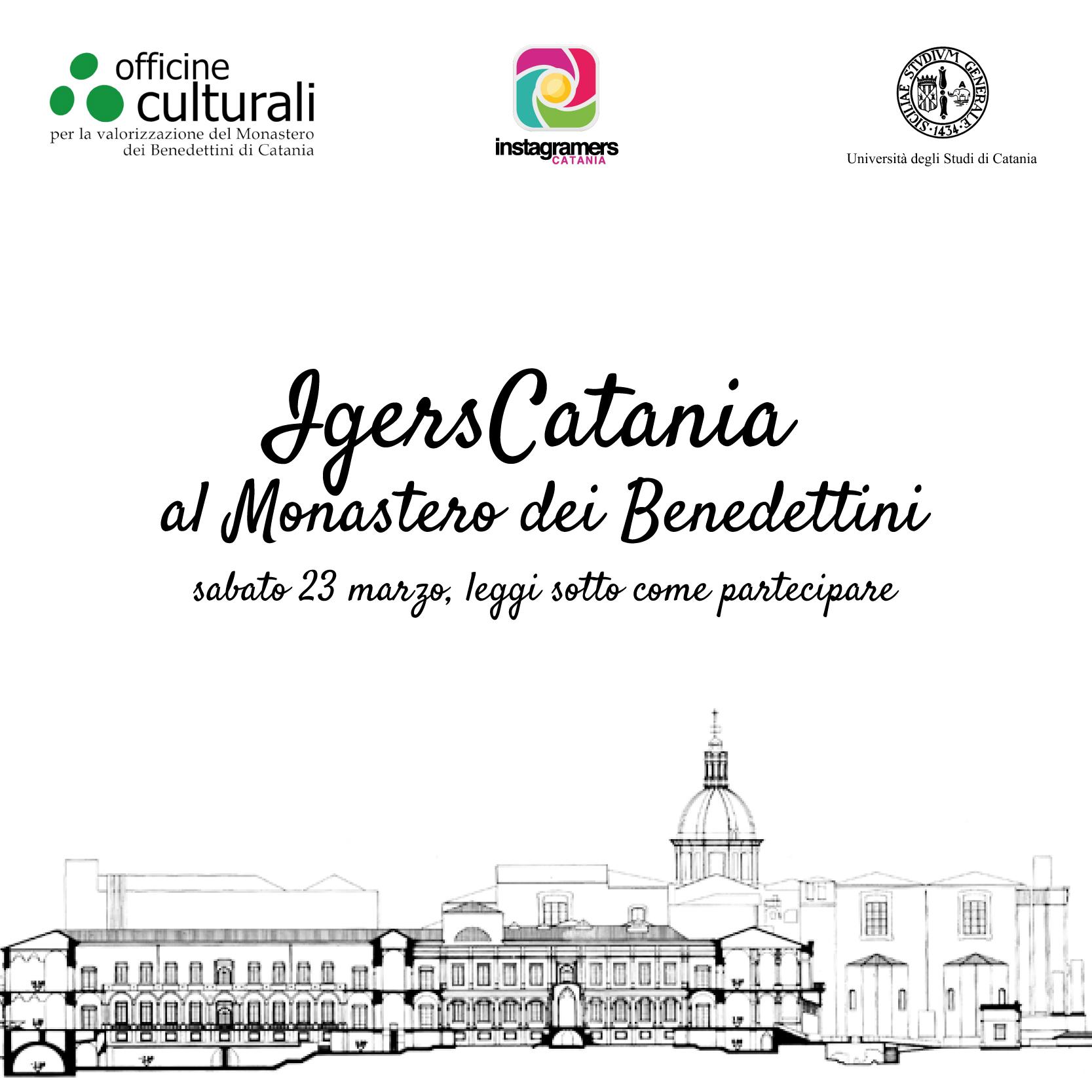 IgersCatania al Monastero dei Benedettini