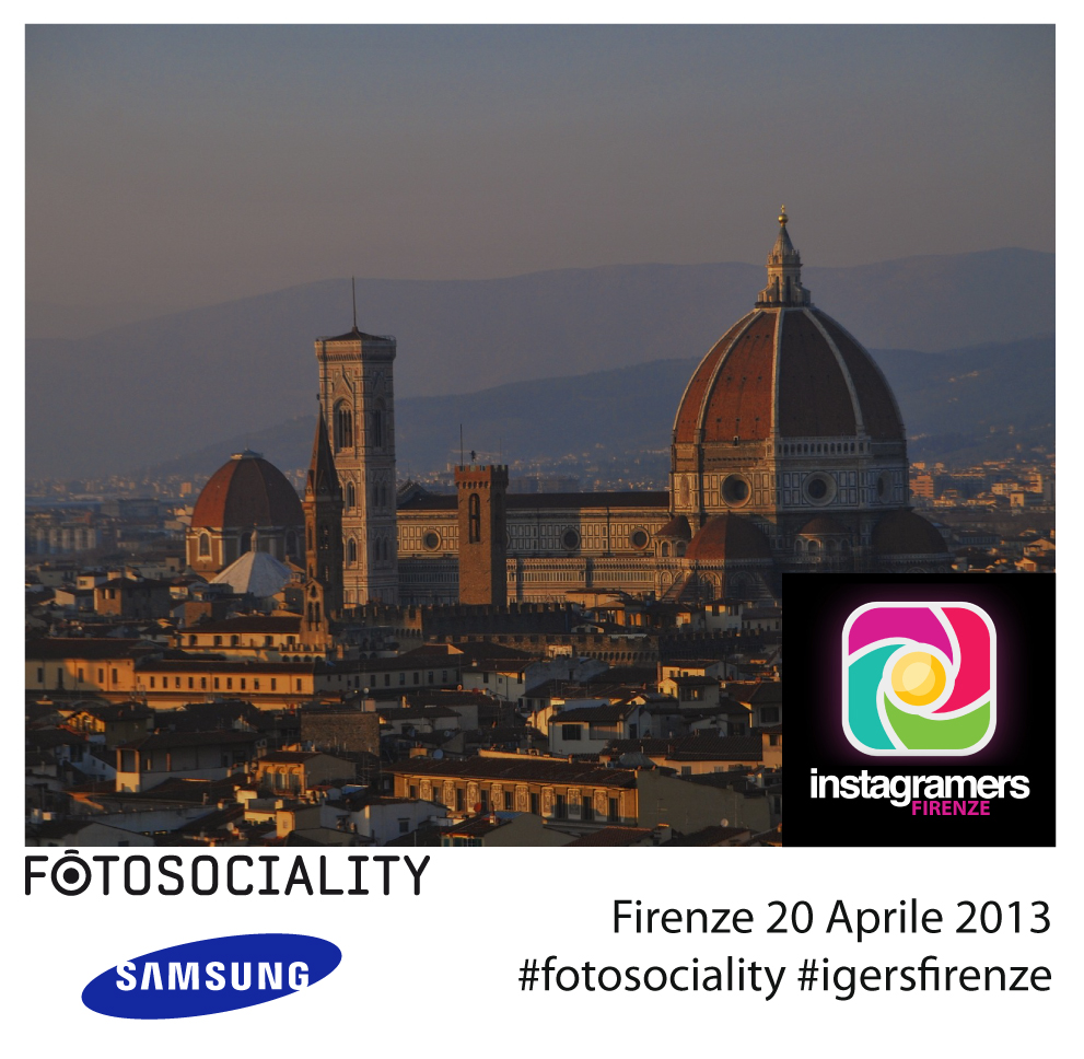 Provare le Samsung Galaxy a Firenze con Instagramers Toscana