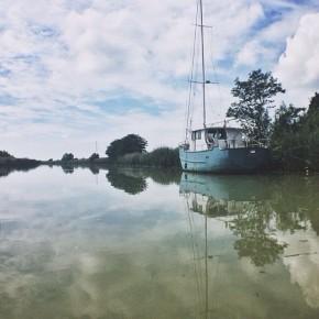 In barca lungo il Natissa (@igersfvg)