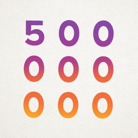 Gli utenti Instagram sono 500 milioni!