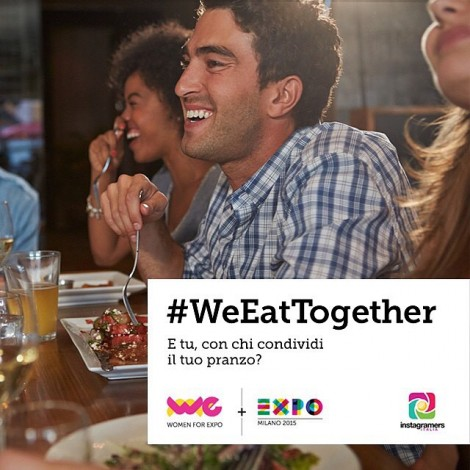 WeEatTogether: la call to action globale di Expo2015 con Igersitalia