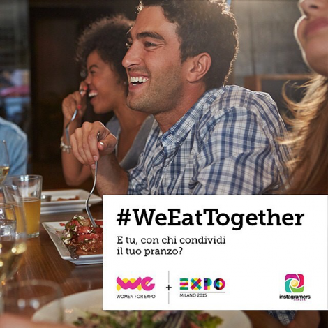 WeEatTogether: le foto ora in Expo