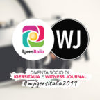 IgersItalia e Witness Journal, importanti novità introdotte al tesseramento 2019