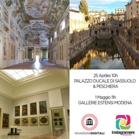 Instagramers Modena invade la cultura e l'arte a Modena