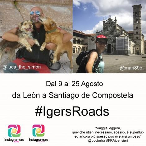 IgersRoads: due Instagramers sul Camino de Santiago