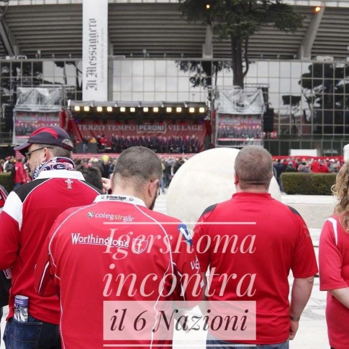 Igersroma all'RBS 6 Nazioni: tra Rugby e cultura