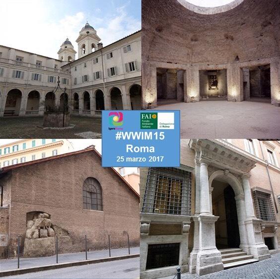 WWIM15 con IgersRoma e FAI_Lazio