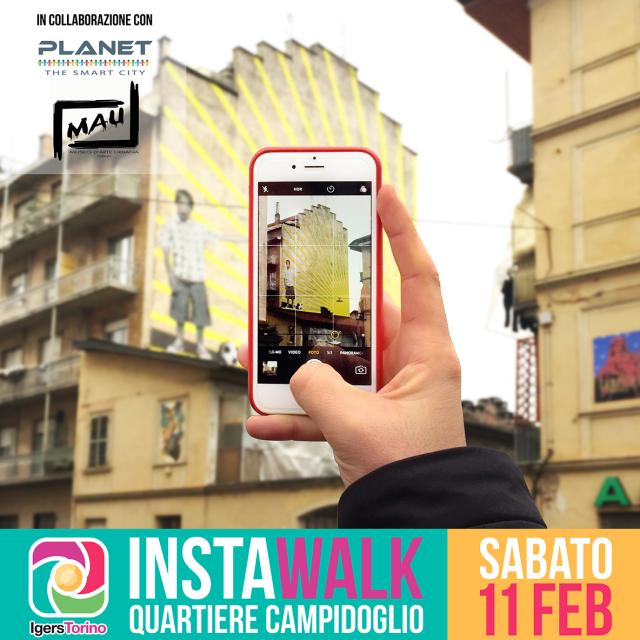 #InstawalkCampidoglio: fotografia, arte urbana e sostenibilità