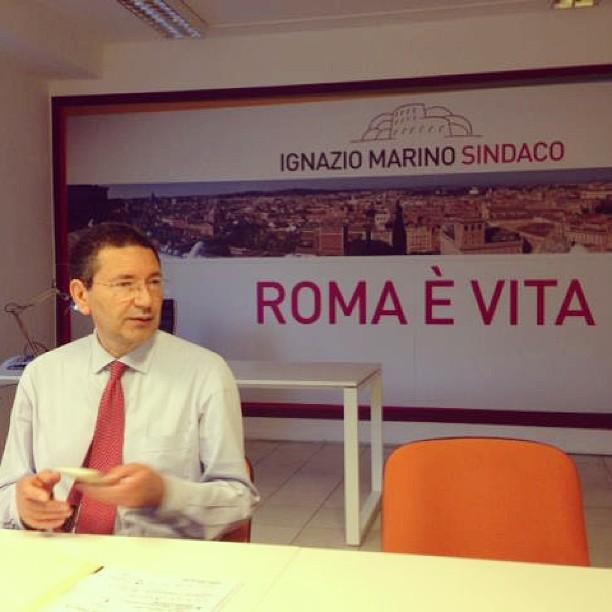 Ignazio Marino // Iger della settimana