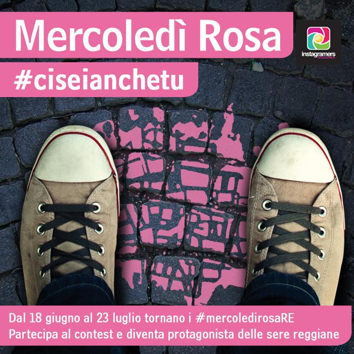 I Mercoledì Rosa con @igersreggioemilia