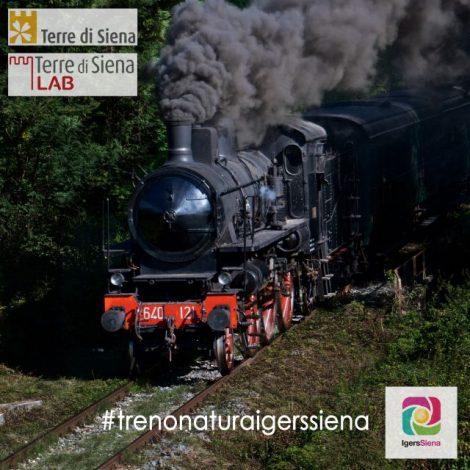 Sul Treno Natura con Igers Siena