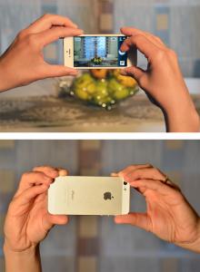 Errore nell'impugnare lo smartphone