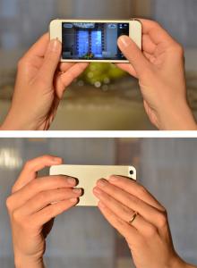 Come impugnare lo smartphone