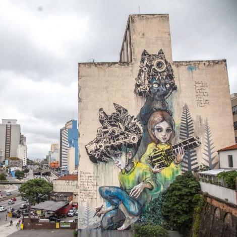 O.bra Festival: la street art ravviva San Paolo