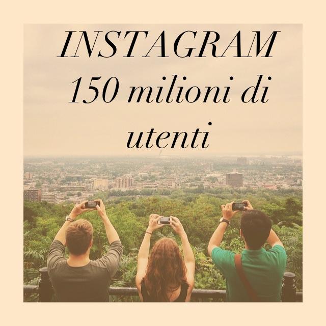 Statistiche per Instagram: 150 milioni di iscritti