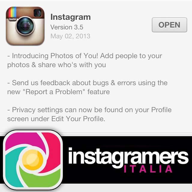 Instagram 3.5: Arrivano i Tag sulle Foto Come su Facebook