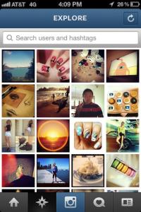 instagram explore