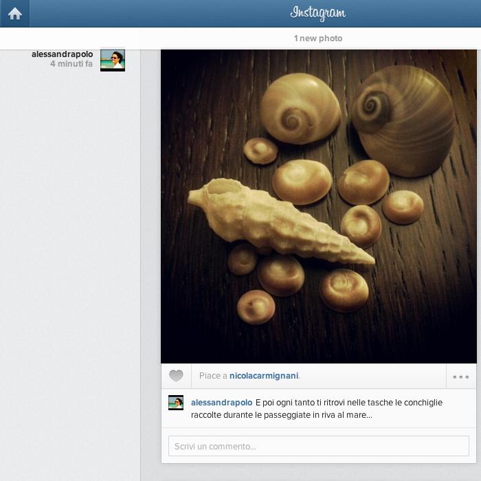 Il nostro feed Instagram finalmente visibile anche da web!