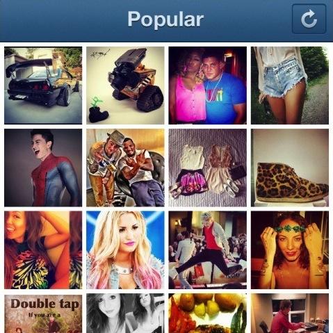 Instagram: come funziona la Pagina Popular