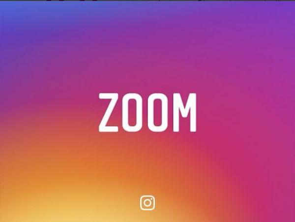 Zoom: da oggi si possono ingrandire foto e video su Instagram