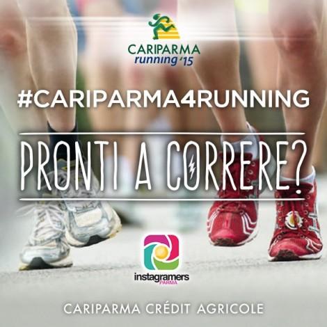 Racconta la tua corsa con @igersparma e Cariparma!
