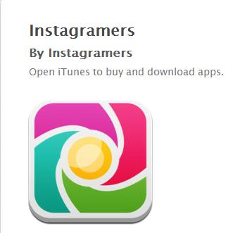 App Instagramers on iTunes