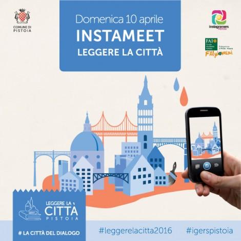 """Instameet """"Leggere la città"""" con igers_pistoia"""