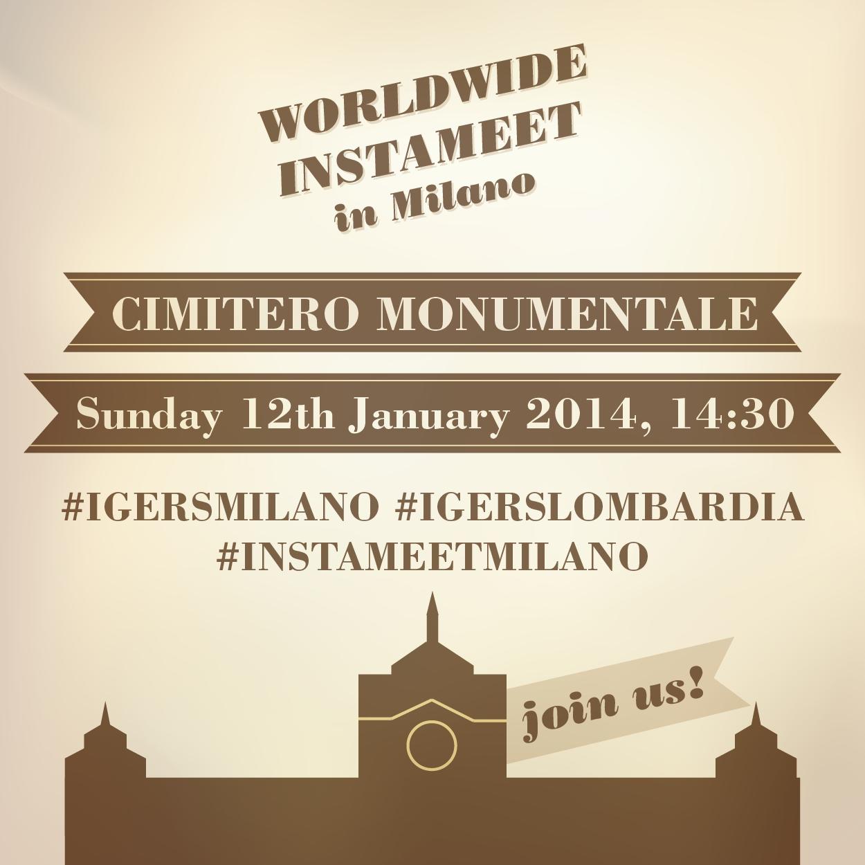Worldwide Instameet a Milano il 12 gennaio 2014
