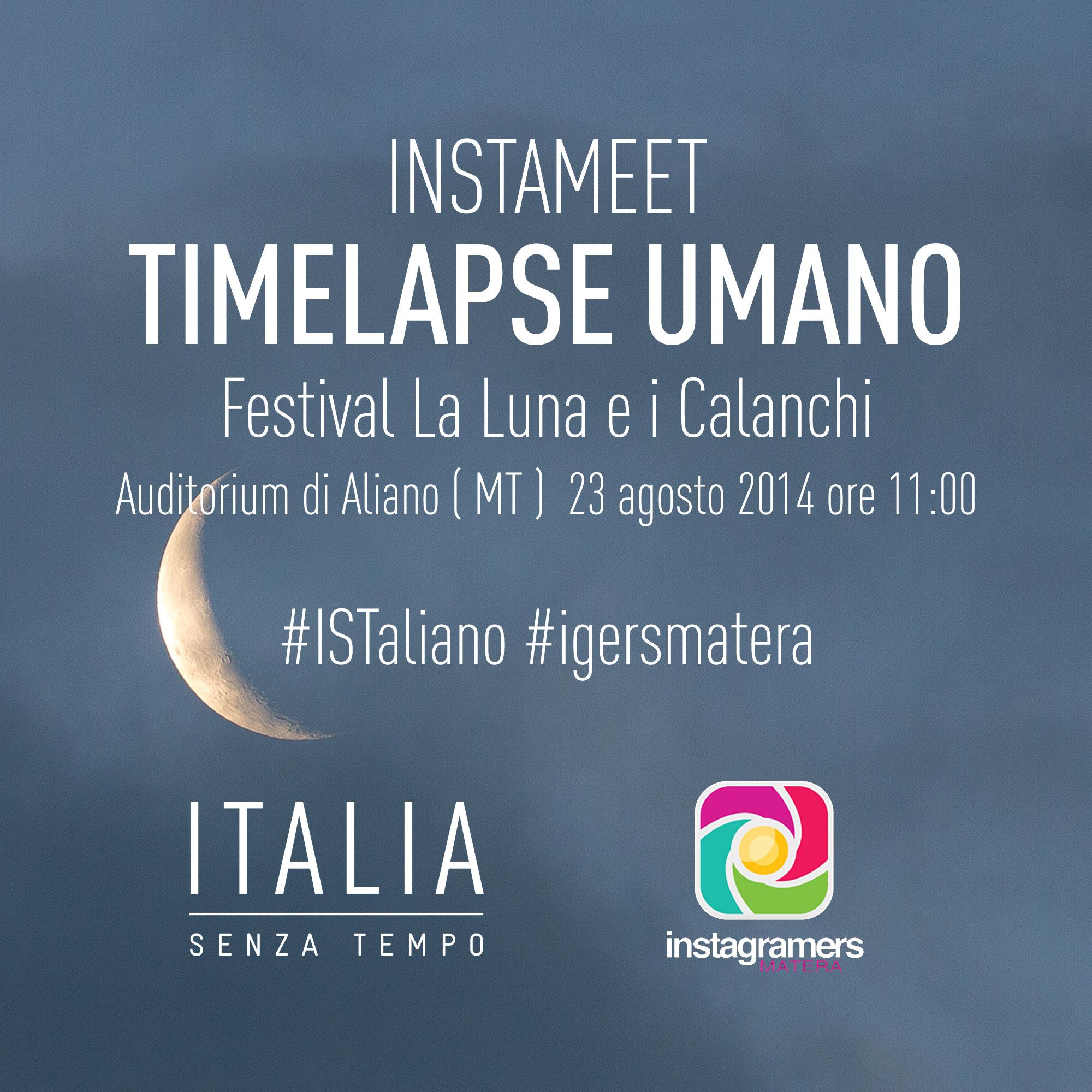 Timelapse Umano ad Aliano con IgersMatera