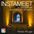 Instameet nei sotterranei della Fortezza da Basso a Firenze
