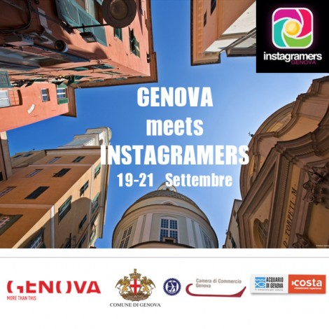 Instameet a Genova con ospiti internazionali